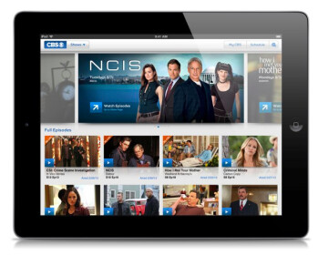The CBS app streams full episodes of prime time shows