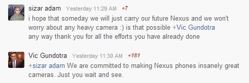 Rumor: Google Nexus 5 might feature a revolutionary camera with Nikon branding