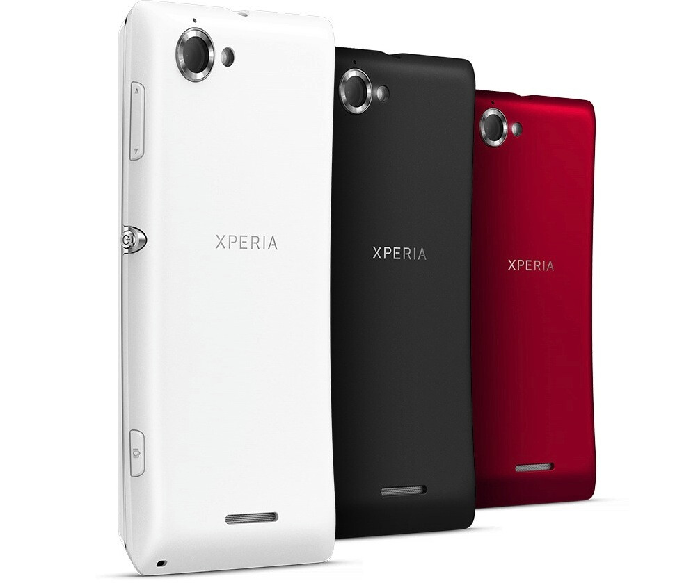 Sony Xperia L is official with 8MP Exmor RS camera, coming ...