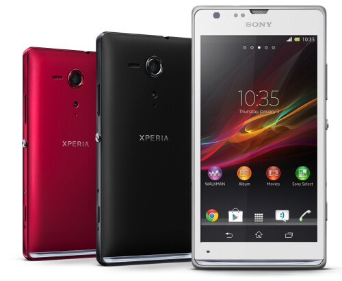 Sony Xperia SP announced