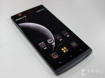 The OPPO Find 5 in black