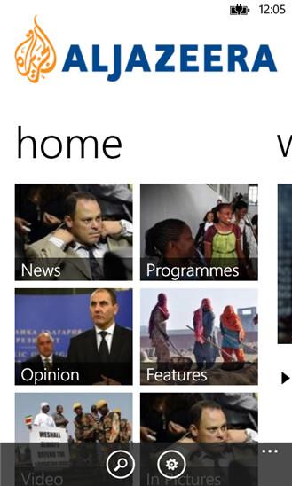 al jazeera windows phone app