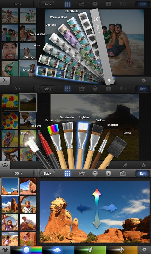 iPhoto - $4.99 (Advanced photo retouch and manipulation)