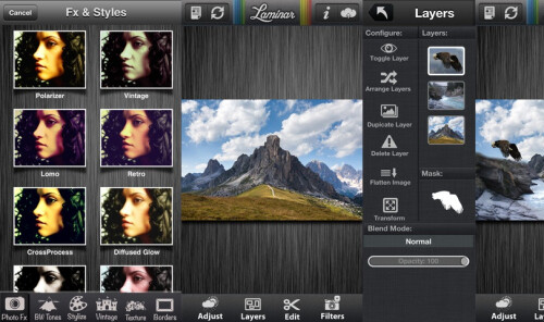Laminar Pro - $3.99 (Advanced photo retouch and manipulation)