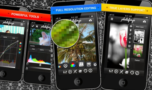 PhotoForge 2 - $3.99 (Advanced photo retouch and manipulation)