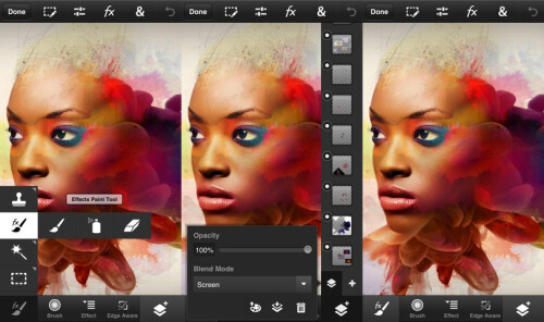 Photoshop Touch - $4.99 (Advanced photo retouch and manipulation)