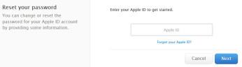 Apple has fixed the bugs on iForgot