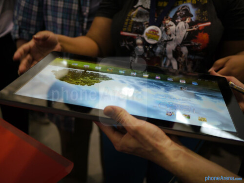 Asus Transformer AiO hands-on