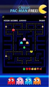 Classic Pac-Man is free from the Google Play Store