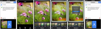 The iOS update brings Snapseed basics to the app