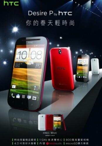 The HTC Desire P (L) and the HTC Desire Q - HTC Desire P and HTC Desire Q are both pictured