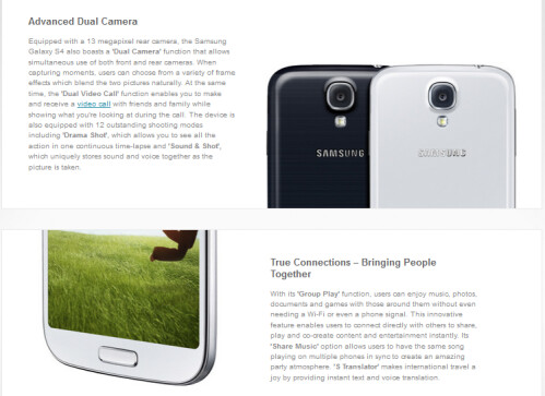 Samsung Galaxy S4 pre-order from Carphone Warehouse