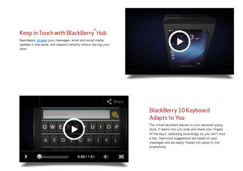 Verizon launches the BlackBerry Z10