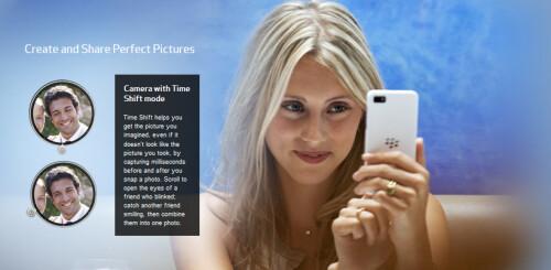 Verizon launches the BlackBerry Z10