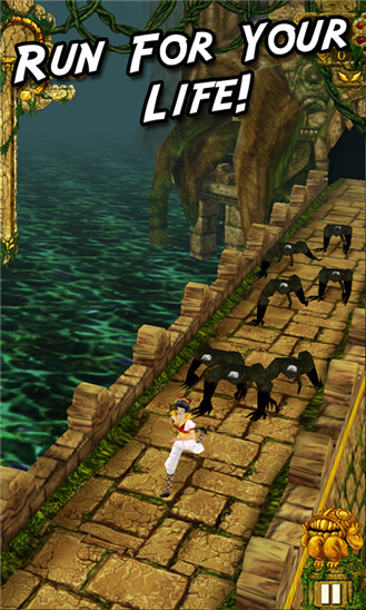 Temple Run version 1.5 is now available at the Windows Phone Store