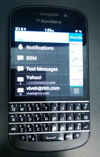 The QWERTY equipped BlackBerry Q10