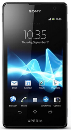 The Sony Xperia TX is receiving an update to Android 4.1