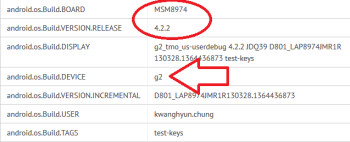 The mystery device on the GLBenchmark site appears to be the LG Optimus G2