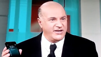 Kevin O'Leary and his new phone