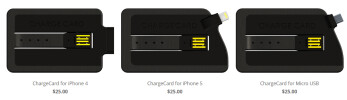 Pre-order the ChargeCard for $25
