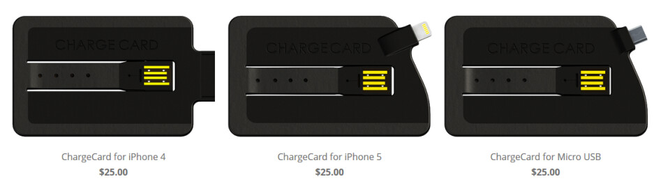 Pre-order the ChargeCard for $25 - ChargeCard USB Charger for the Apple iPhone and Android fits in your wallet