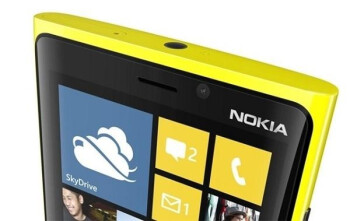 The front-facing camera on the Nokia Lumia 920 is attracting plenty of harmful dust
