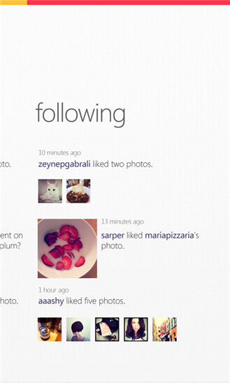 Instagram for Windows Phone...not