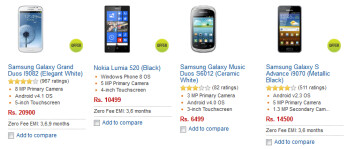 Already the Nokia Lumia 520 is number two on Flipkart's best seller list