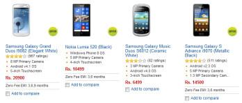 Already the Nokia Lumia 520 is number two on Flipkart's best seller list