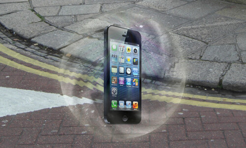 Force-field protection for smartphones