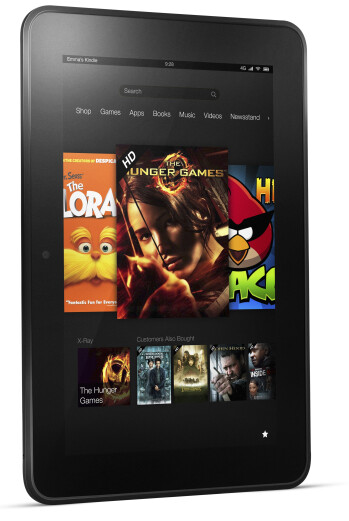 The Amazon Kindle Fire HD 8.9 4G LTE