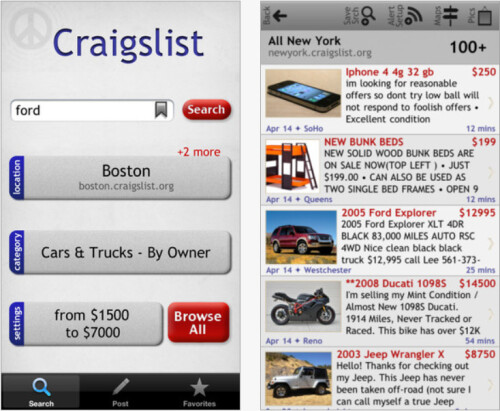 Craigslist Mobile Appliance