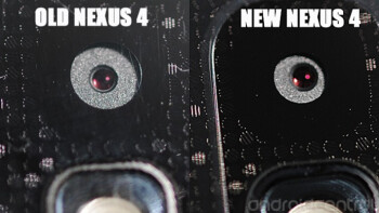 Comparing the new and old camera on the Google Nexus 4
