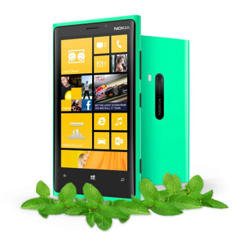 Mint-Green Nokia Lumia 920