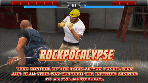If you smell what The Rock is cooking: Rockpockalypse for Android and iOS lets you kick some mutant @ss