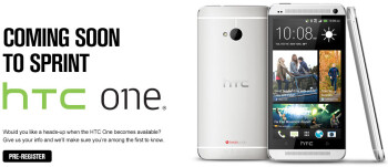 Sprint will launch the HTC One on April 19th