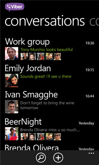 Viber for Windows Phone 8
