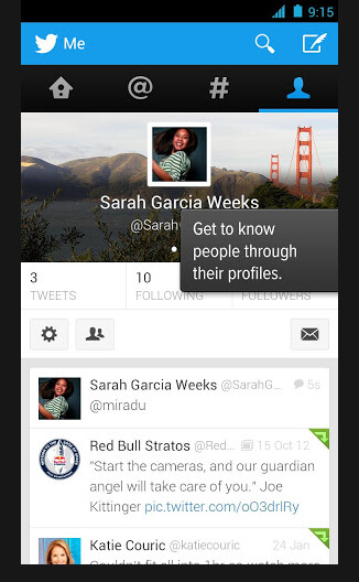 Official Twitter for Android update