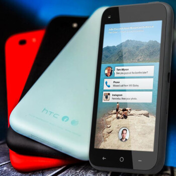 The HTC First is a EE exclusive in the U.K.