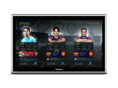 Nokia Win 8 tablet framed to sport exclusive apps like Adidas micoach