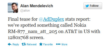 Tweet from Mendelevich reveals mystery Nokia phone