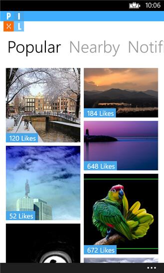 Pixl for Windows Phone