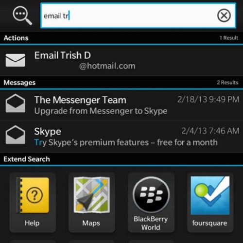 BlackBerry 10.1 OS update