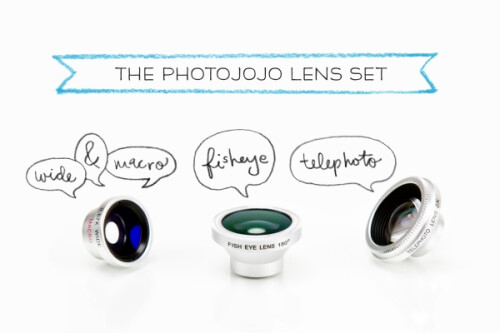 The Photojojo Phone Lens Series - $49
