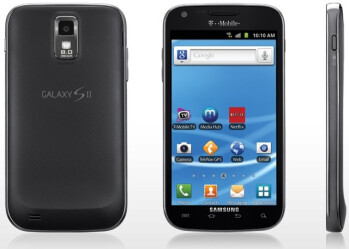 The T-Mobile version of the Samsung Galaxy S II