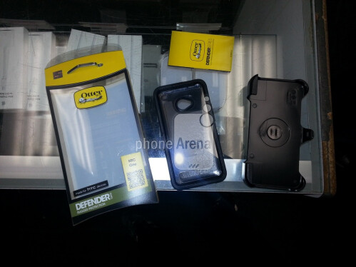 OtterBox Defender case for the HTC One pictured