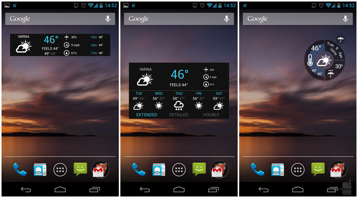 10 great android widgets you should try for Widget tiempo android