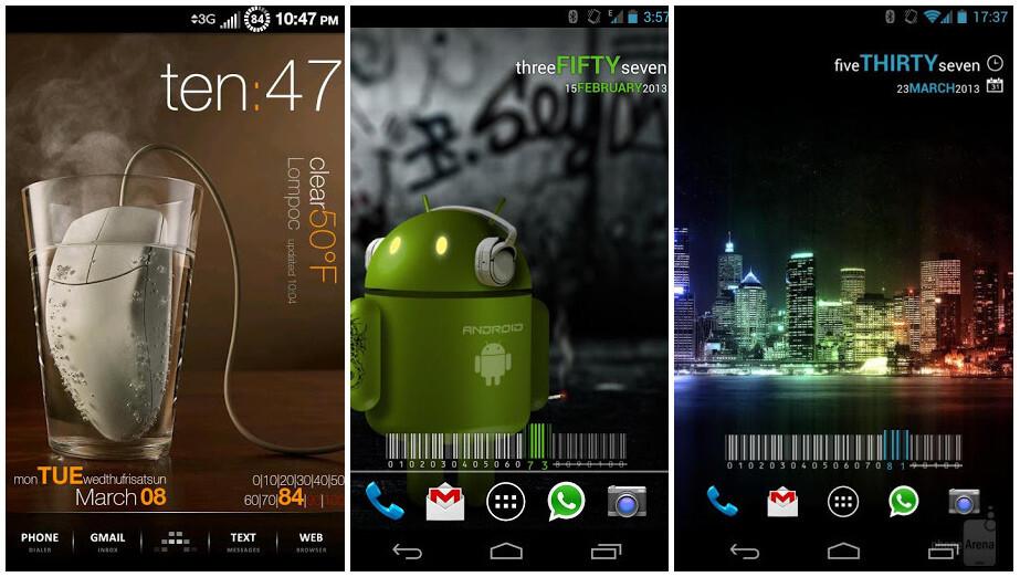 Виджеты для Андроид - скачать бесплатно