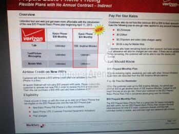 New $35 Prepaid Basic Phone plan coming from Verizon