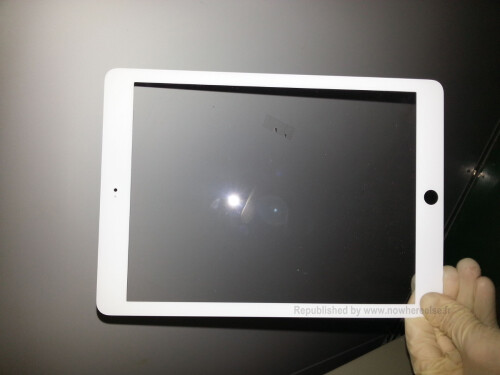 Supposed Apple iPad 5 front plate